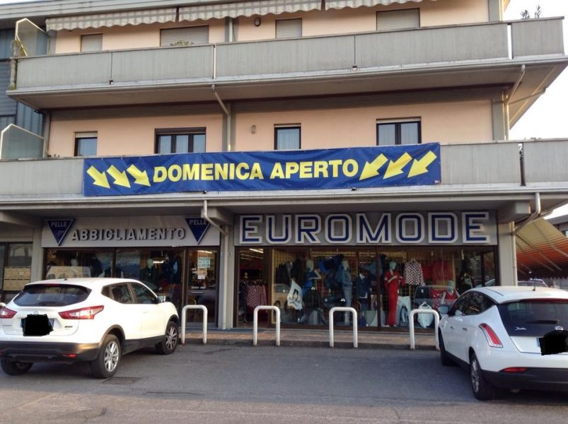Euromode abbigliamento carvico negozi bergamo for Negozi arredamento bergamo e provincia